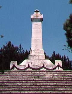 В памет на френските войници и моряци, починали във Варна през Кримската война 1854-55 г.