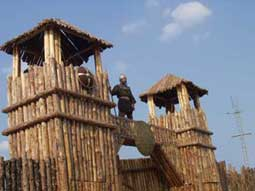 Портата към Фанагория се пази от стражи в автентични костюми